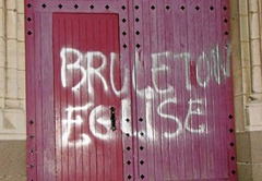 Eglise vandalisée
