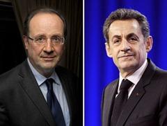 FRANCE2012-ELECTIONS-SARKOZY-HOLLANDE