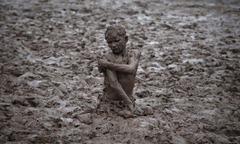 poteau de boue