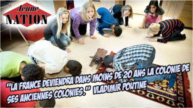Dans une école de la République, des musulmans invitent des enfants à la prière