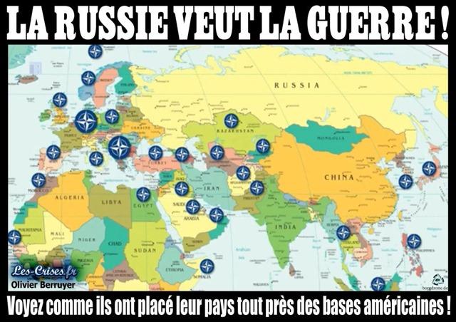 OTAN - La Russie veut la guerre