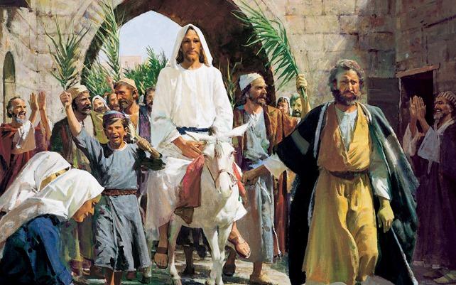 Christ  Entrée à Jérusalem