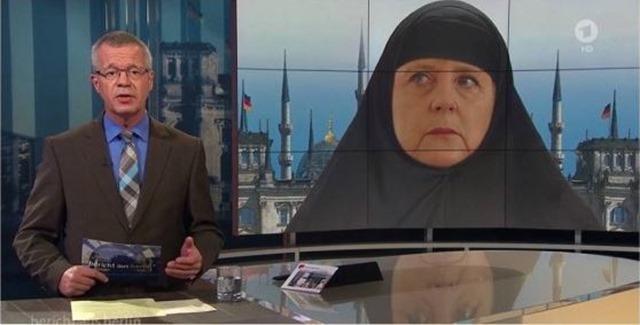 merkel islam
