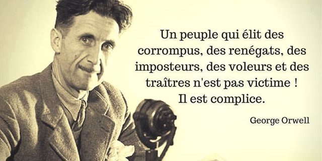 FRANCE Morte  !   Merci aux Francs Maçons  ! Citation-orwell_thumb2_thumb1
