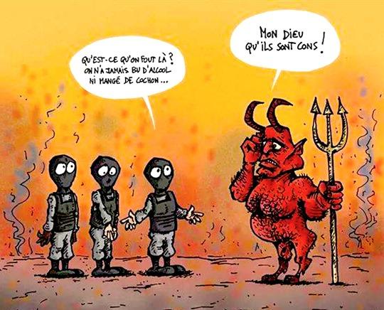 Islam en enfer