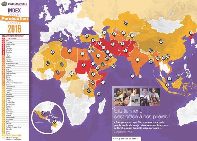 carte-index-mondial-de-persecution-2016