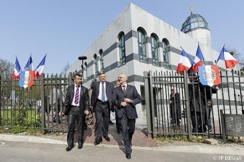 inauguration de la mosquée de Tremblay-en-France